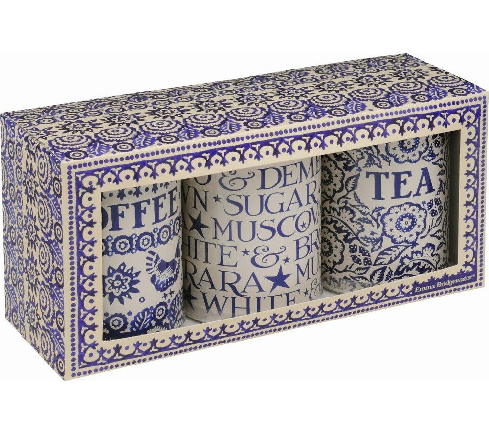 BLUE HEN By Emma Bridgewater Storage Caddies - Set of 3