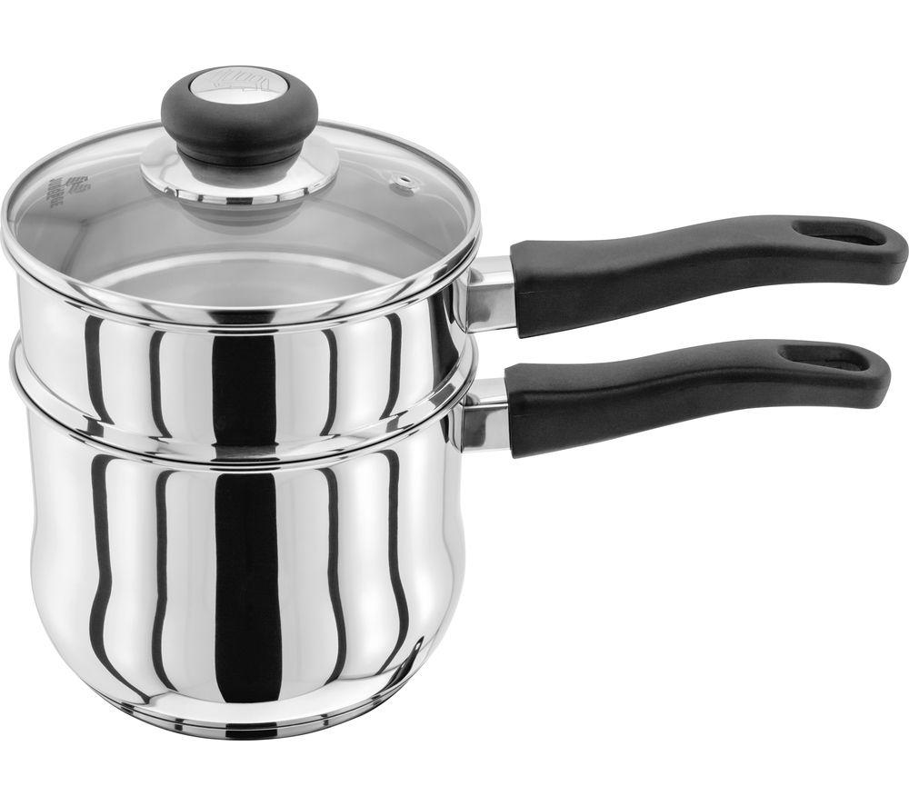 Image of JUDGE VISTA JJ57 16 cm Porringer Saucepan - Stainless Steel, Stainless Steel