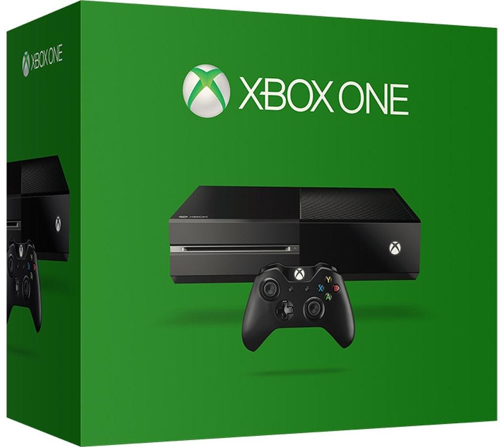 MICROSOFT Xbox One - 500 GB, Matte Black