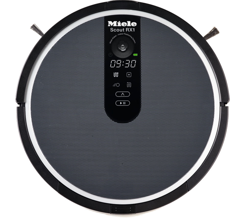 miele scout rx1 robot vacuum cleaner black - Robotic Vacuum Cleaner