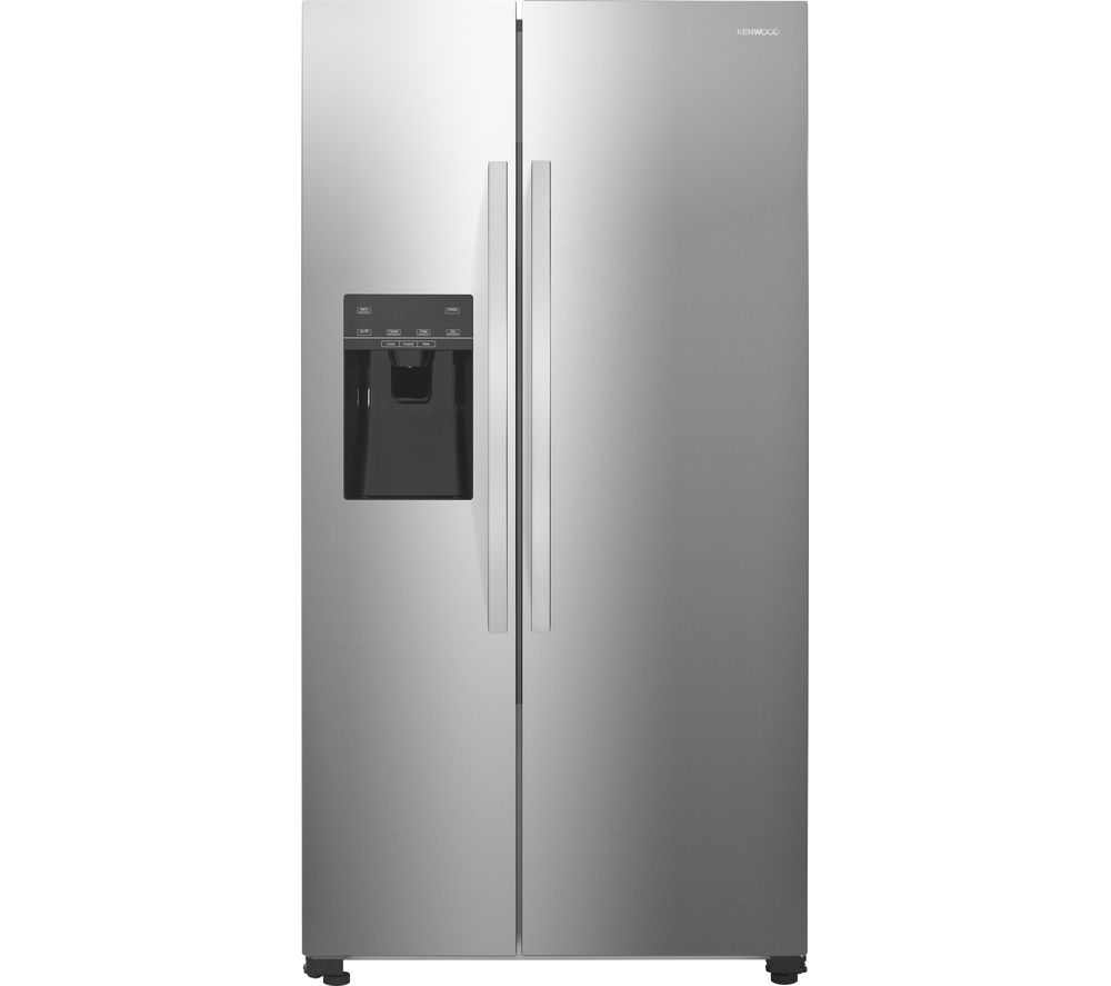 KENWOOD  KSBSDIX16 AmericanStyle Fridge Freezer  Stainless Steel Stainless Steel