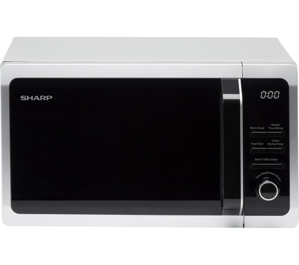 SHARP  R274SLM Solo Microwave  Silver Silver