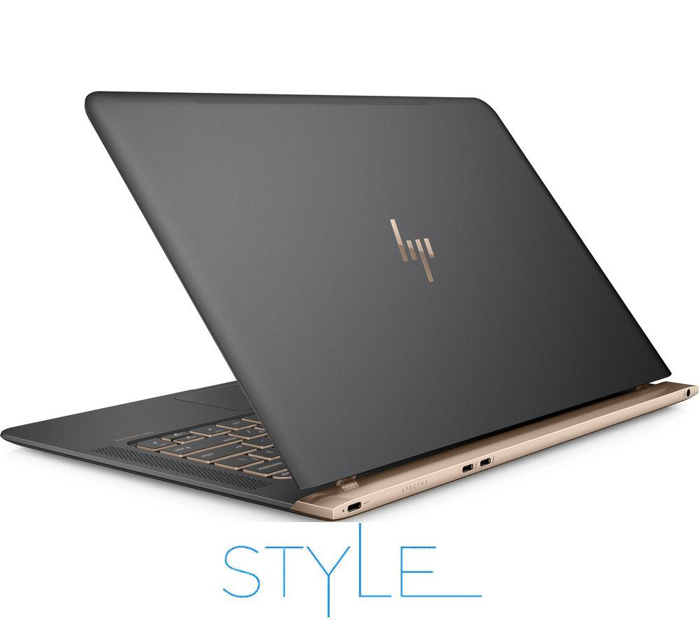 """Image of HP Spectre 13-v050na 13.3"""" Laptop - Dark Grey & Copper"""