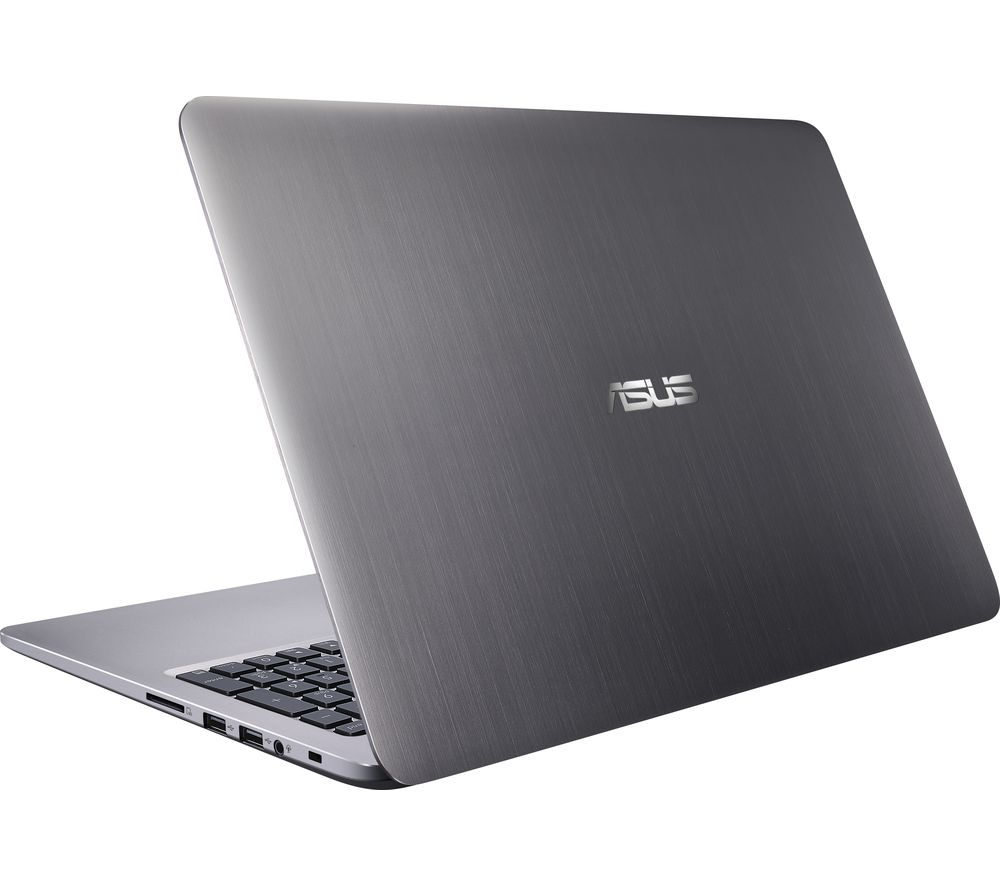 "ASUS K501UX 15.6"" Laptop - Grey"