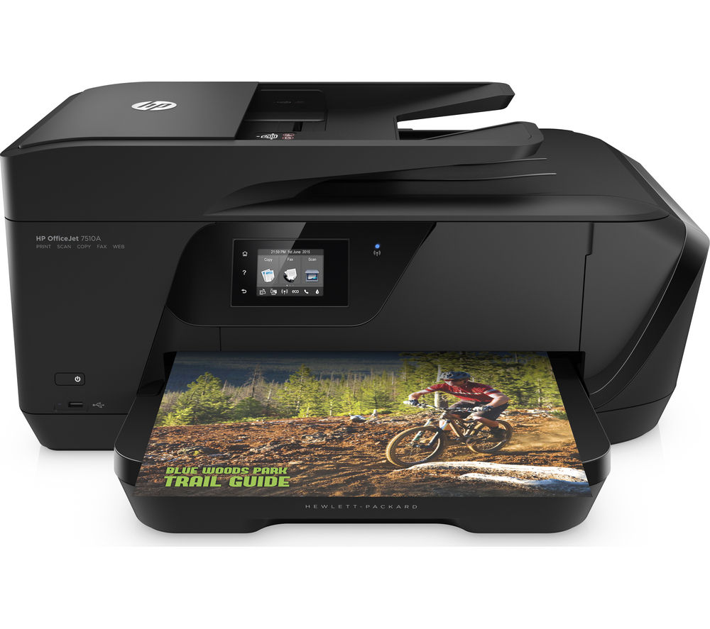 Image of HP Officejet 7510 All-in-One Wireless A3 Inkjet Printer with Fax