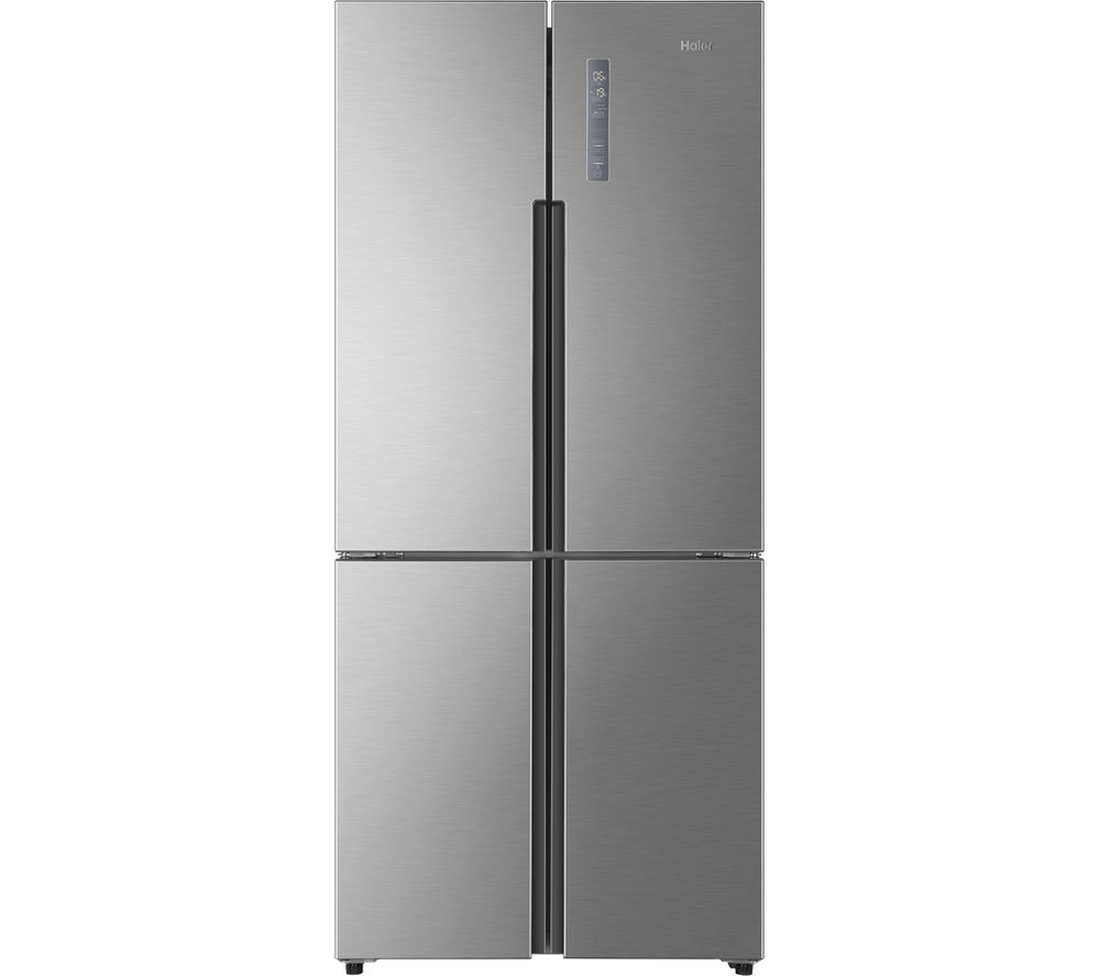 HAIER  HTF452DM7 AmericanStyle Fridge Freezer  Stainless Steel Stainless Steel