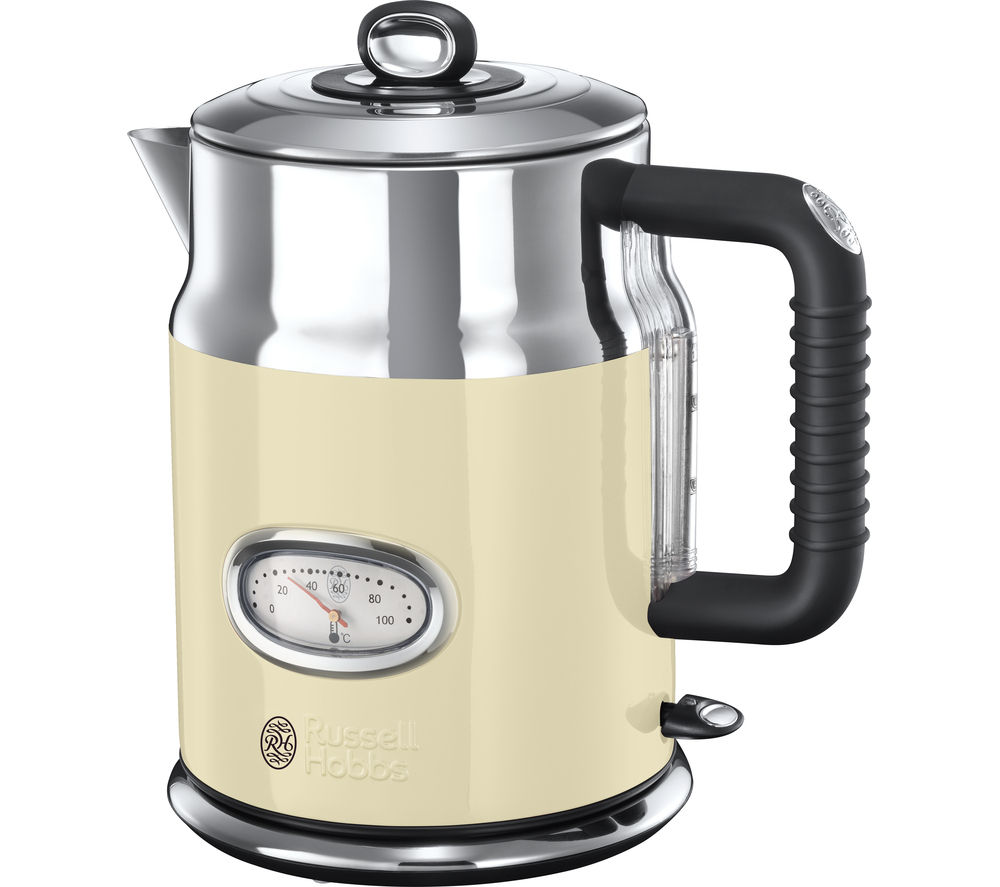 Buy Russell Hobbs Retro Vintage N21672 Jug Kettle Cream