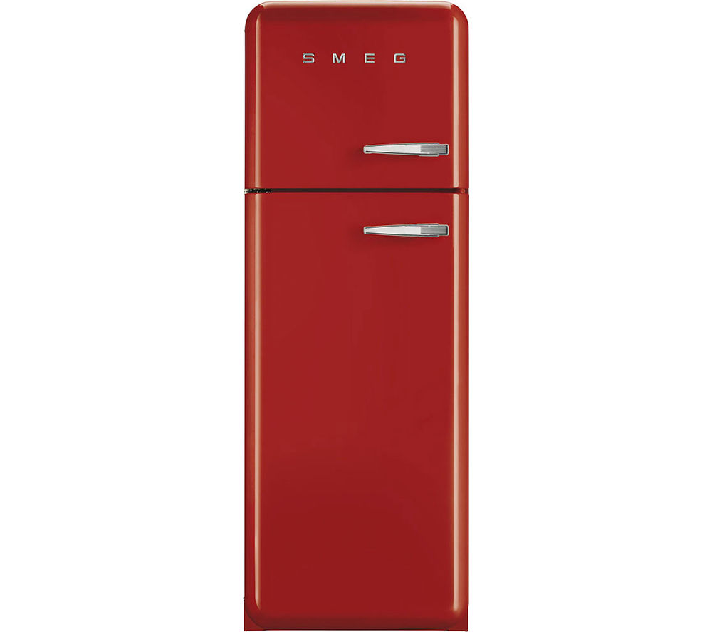 SMEG  FAB30LFR Fridge Freezer  Red Red
