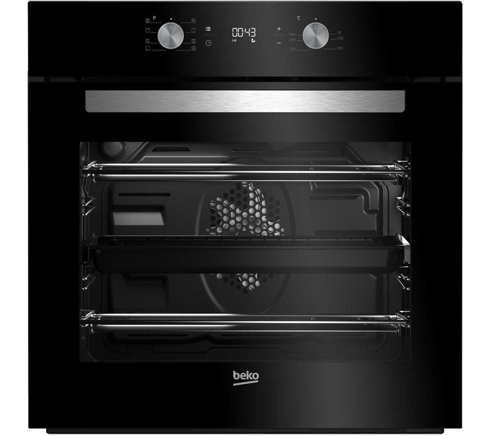 Single Oven With Grill Part - 50: BEKO BIM14300BC Electric Single Oven - Black