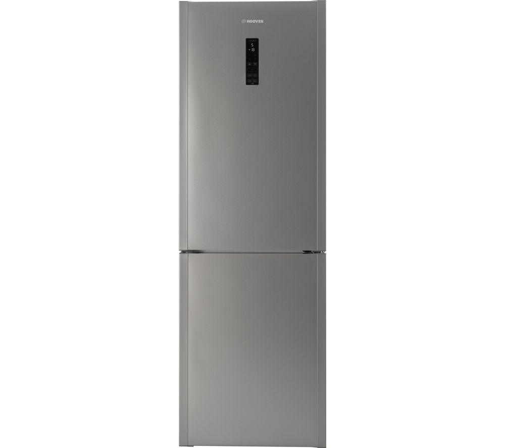 HOOVER  HDCN182ADK Fridge Freezer  Stainless Steel Stainless Steel