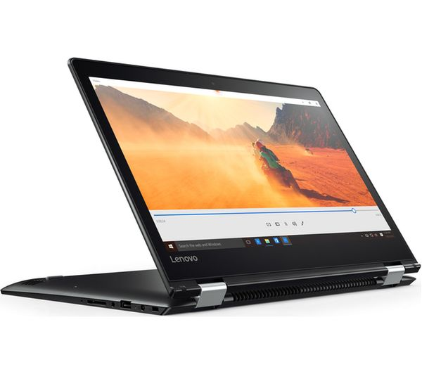 Buy LENOVO YOGA 510 14u0026quot; 2 in 1 - Black : Free Delivery : Currys