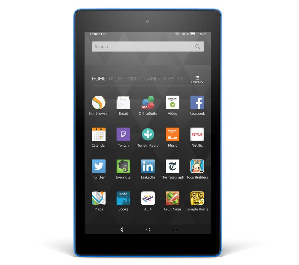AMAZON  Fire HD 8  16 GB Blue Blue