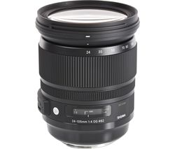 SIGMA 24-105 mm f/4.0 DG HSM Standard Zoom Lens - for Canon