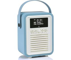 VQ Retro Mini -MINI-TL Portable Bluetooth DAB+/FM Radio - Blue