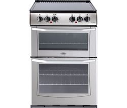 BELLING Enfield E552 55 cm Electric Ceramic Cooker - Silver & Black