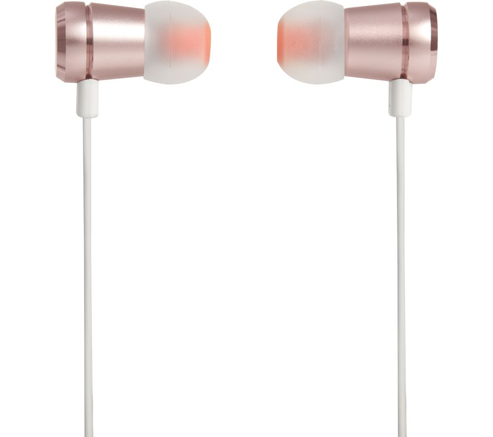 Click to view more of JBL  T290 Headphones - Rose Gold, Gold