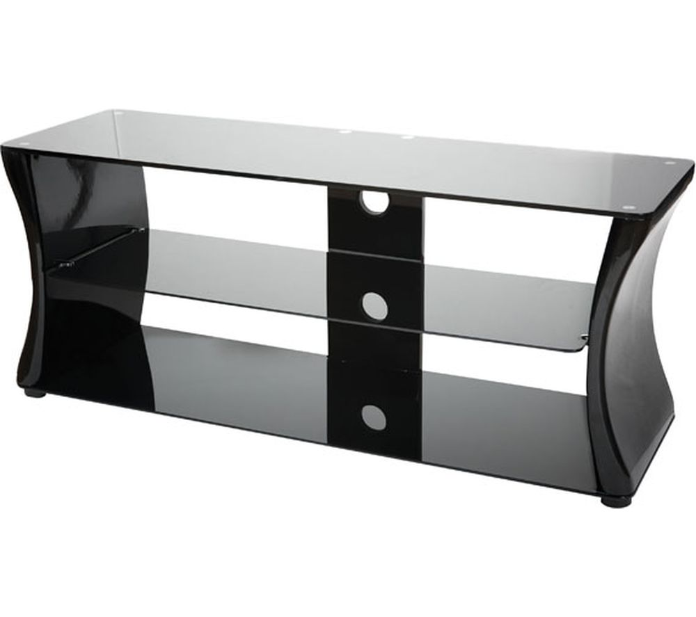 VIVANCO Sirocco 1100 TV Stand - Black & White