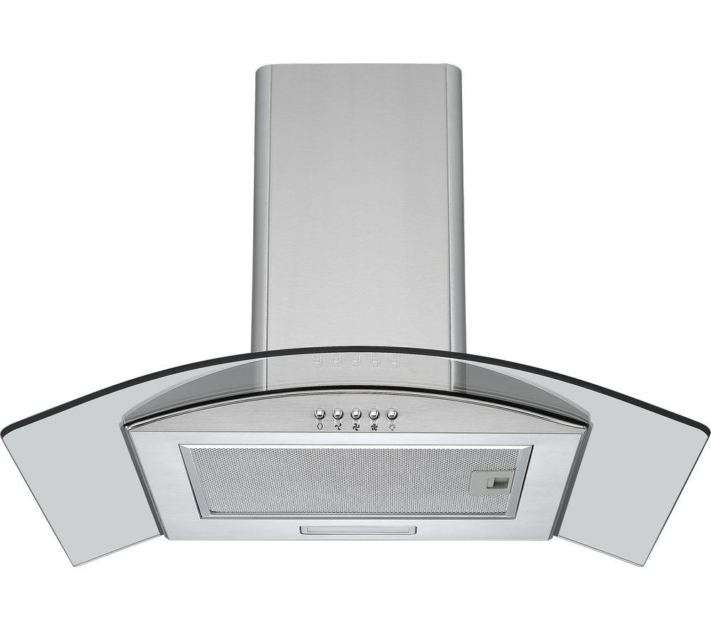 buy logik l60chdg17 chimney cooker hood stainless steel. Black Bedroom Furniture Sets. Home Design Ideas
