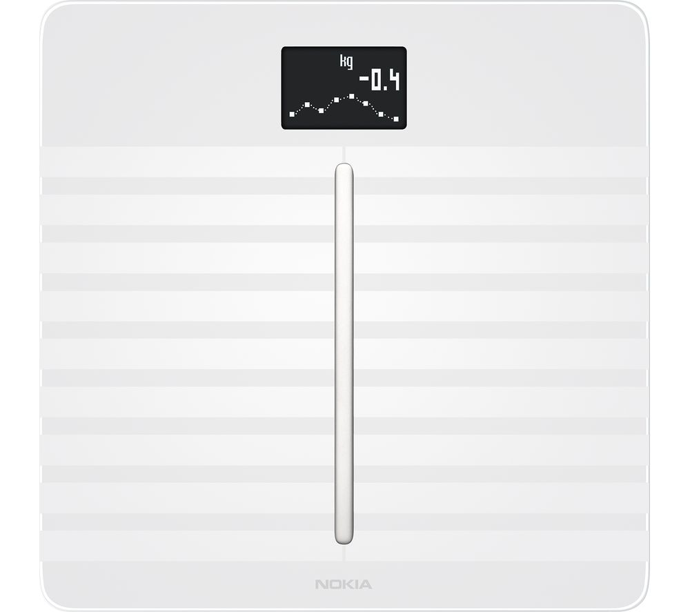 NOKIA Body Cardio WBS04 Heart Health & Body Composition Smart Scale - White