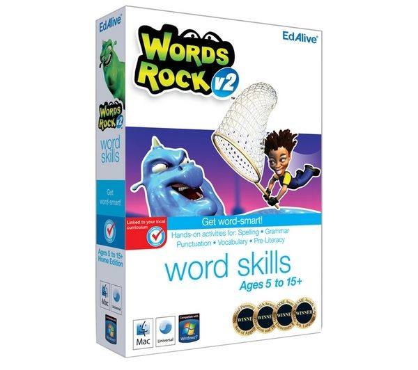 EDALIVE Words Rock - for PC and Mac