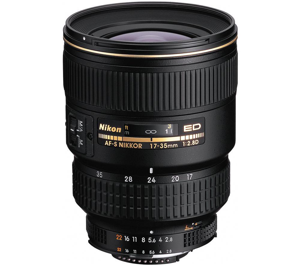 NIKON AF-S Zoom-NIKKOR 17-35 mm f/2.8D IF-ED Wide-angle Zoom Lens