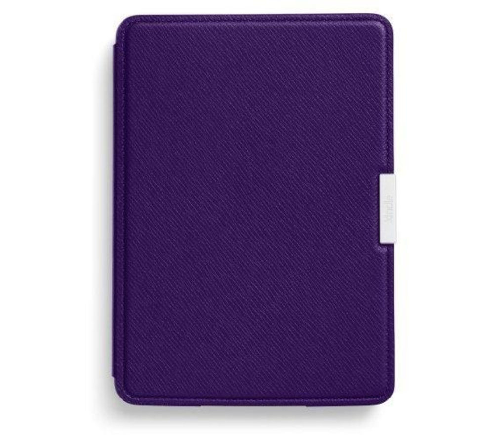 Amazon Kindle Paperwhite Leather Case - Purple, Purple