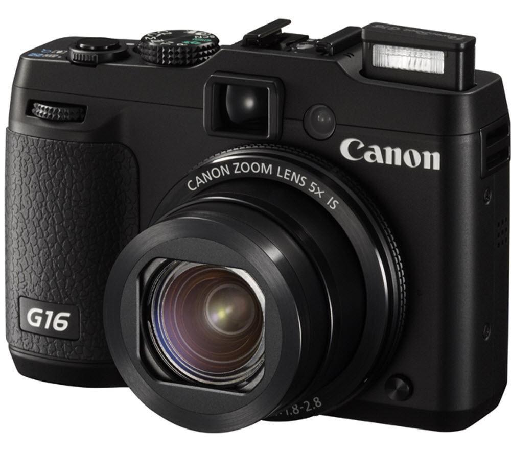 CANON PowerShot G16 High Performance Compact Digital Camera - Black