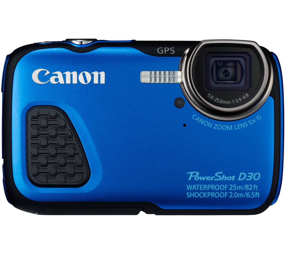 CANON PowerShot D30 Tough Compact Camera - Blue