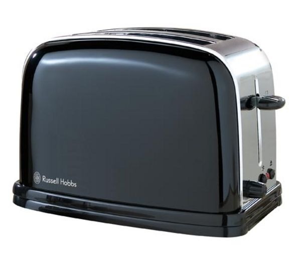 buy russell hobbs colours 14361 2 slice toaster black free delivery currys. Black Bedroom Furniture Sets. Home Design Ideas