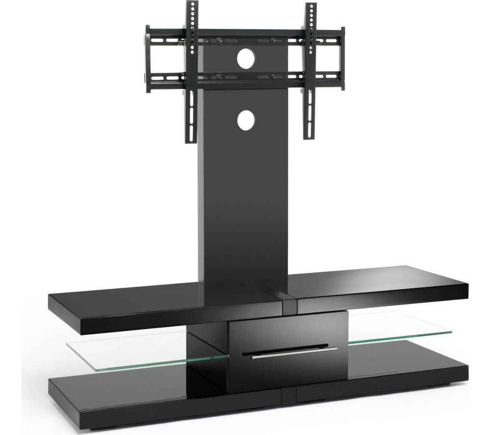 TECHLINK  Echo EC130TVB TV Stand with Bracket Black