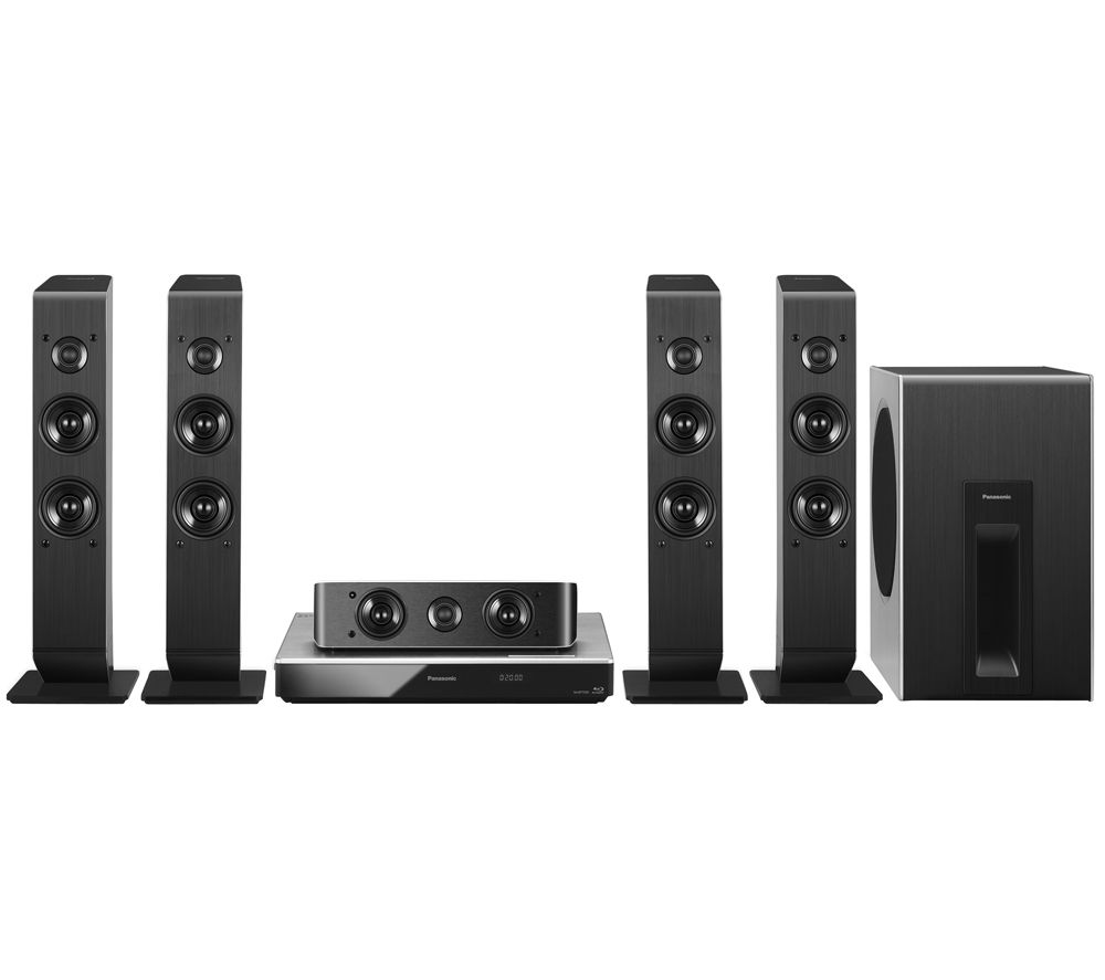 PANASONIC SC-BTT505EBS 5.1 Smart 4k 3D Blu-ray Home Cinema System