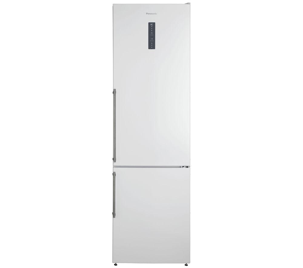 Image of PANASONIC NR-BN34FW1 Fridge Freezer – White, White