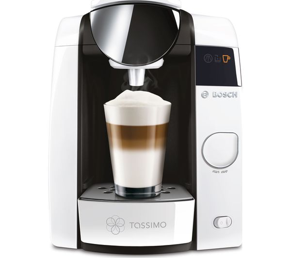Bosch Coffee Maker Hot Water : Bosch Tassimo White Joy 2 Drinks Machine Coffee Espresso Maker TAS4504GB BRITA eBay