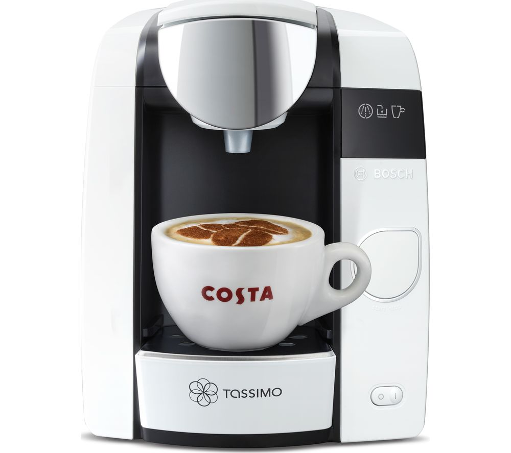 buy tassimo by bosch joy tas4504gb hot drinks machine white free delivery currys. Black Bedroom Furniture Sets. Home Design Ideas