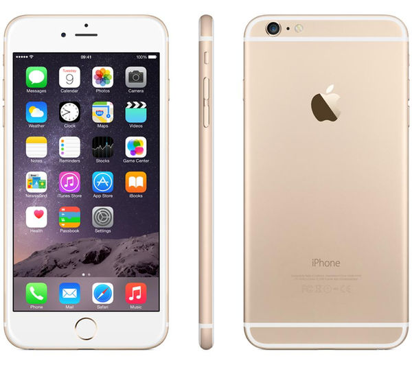 buy apple iphone 6 plus 16 gb gold free delivery currys. Black Bedroom Furniture Sets. Home Design Ideas