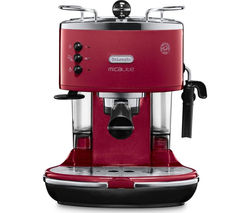 DELONGHI Icona Micalite ECOM 311.R Coffee Machine - Red