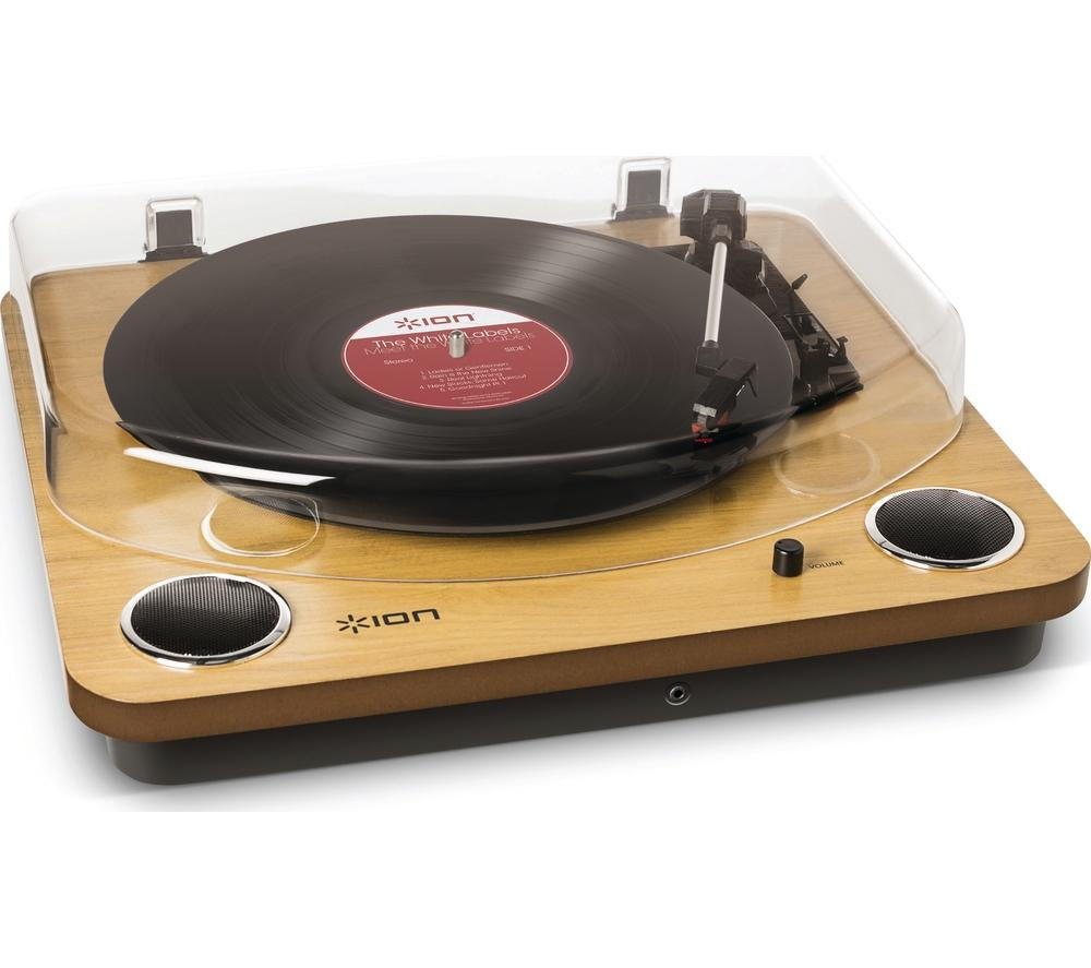 Click to view more of ION  Max LP Turntable - Wood