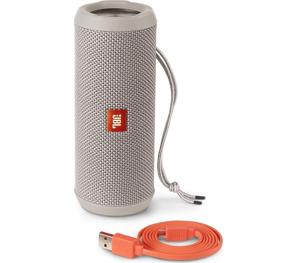 Buy Jbl Flip 3 Portable Wireless Speaker Grey Free