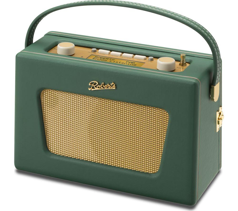 Buy roberts sovereign portable dab fm clock radio for Free portable