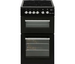 FLAVEL MLB5CDK 50 cm Electric Ceramic Cooker - Black