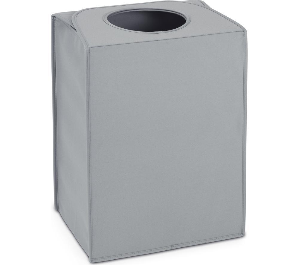 BRABANTIA Rectangular 55-litre Laundry Bag - Cool Grey