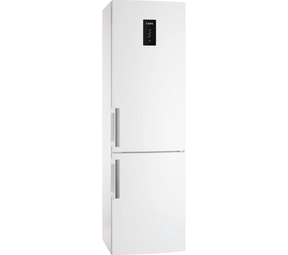 AEG  S53620CTWF Fridge Freezer  White White