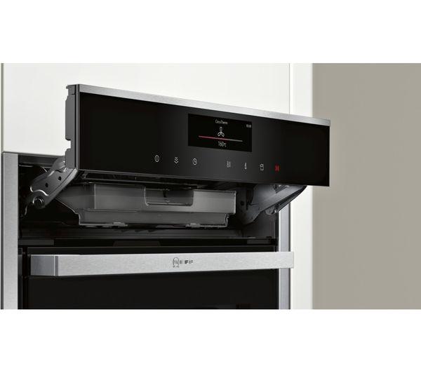 buy neff b58vt28n0b slide hide electric oven stainless. Black Bedroom Furniture Sets. Home Design Ideas