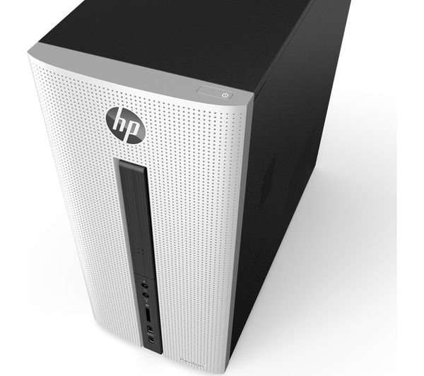 hp pavilion 550 153na desktop pc exclusive white deals. Black Bedroom Furniture Sets. Home Design Ideas