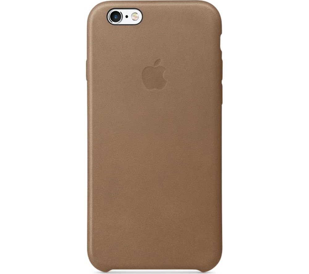 APPLE Leather iPhone 6s Case - Brown