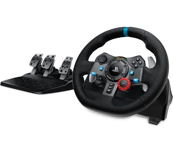 LOGITECH Driving Force G29 Racing Wheel - Black