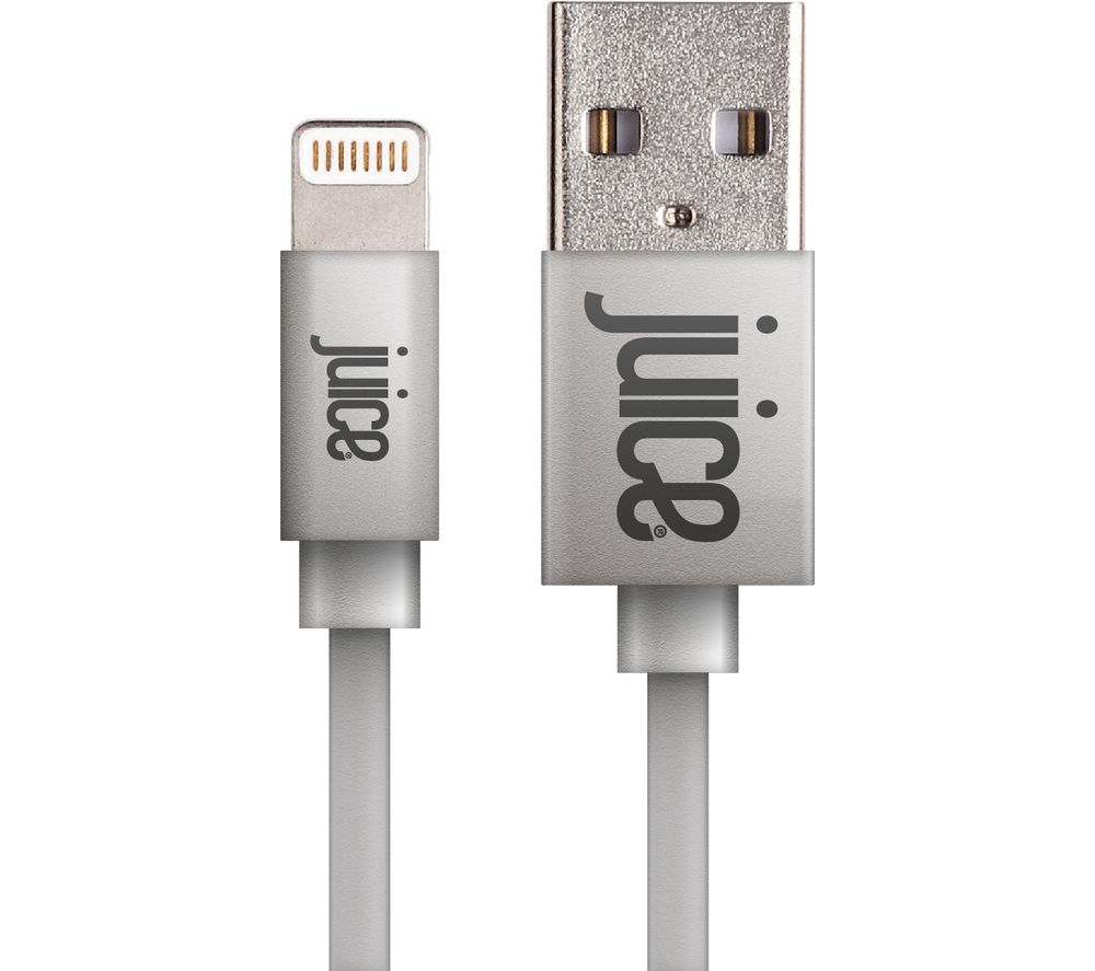 JUICE Charge & Sync USB to 8-Pin Lightning Cable - 1 m