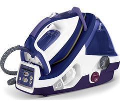 TEFAL Pro Express Total X-pert GV8976 Steam Generator Iron - Purple & White