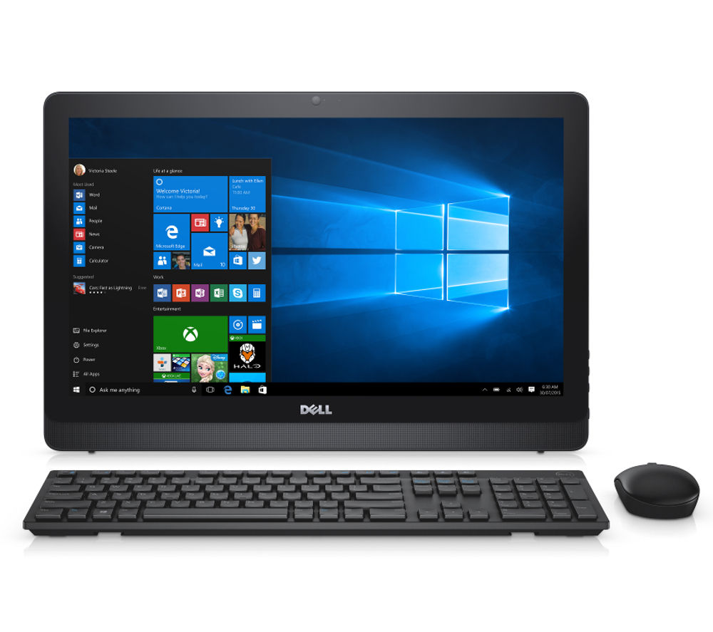 buy dell inspiron 22 3000 21 5 all in one pc free delivery currys. Black Bedroom Furniture Sets. Home Design Ideas