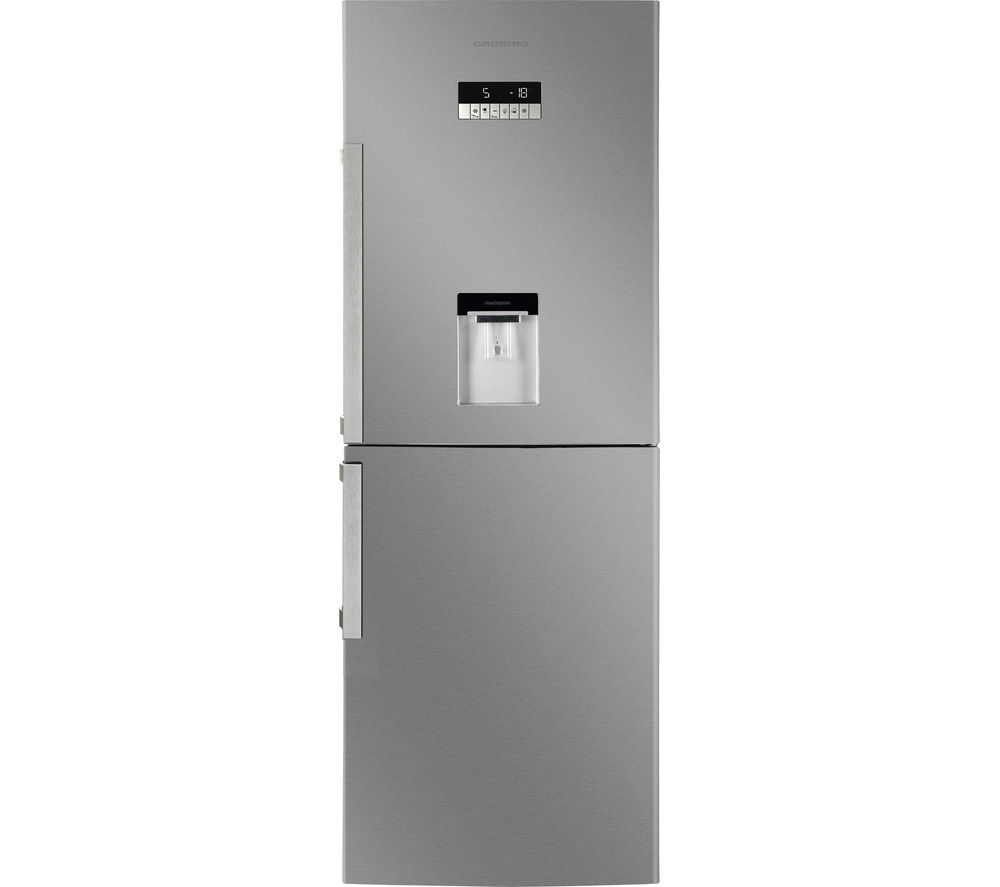 GRUNDIG  GKN16910DX Fridge Freezer  Stainless Steel Stainless Steel